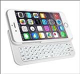 「Origin」 iPhone6 Plus スライドキーボード iPhone6 Plus Bluetooth キーボード iPhone6 Plus ジャストフィット ワイヤレスキーボード + ケース 一体型 5.5インチ専用 IP6PLUSSKB ホワイト