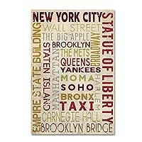 商標Fine Art New York 2byランタン押し 16x24 ALI09519-C1624GG