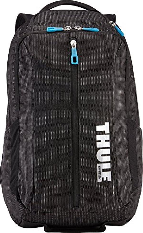 新年つかの間結晶(スーリー) THULE スーリー バッグ THULE TCBP-317 CROSSOVER 25L DAYPACK リュックサック バックパック BLACK[並行輸入品]