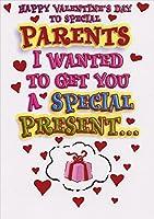 特別なPresents : Parents–Designer Greetings Funny Valentine 's Dayカード
