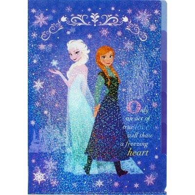 ディズニー アナと雪の女王 クリアファイル (5ポケット) ...