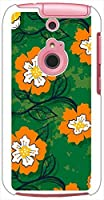 ohama 301F ARROWS A アローズ ハードケース ca629-4 花柄 レトロ ポップ フラワー スマホ ケース スマートフォン カバー カスタム ジャケット softbank