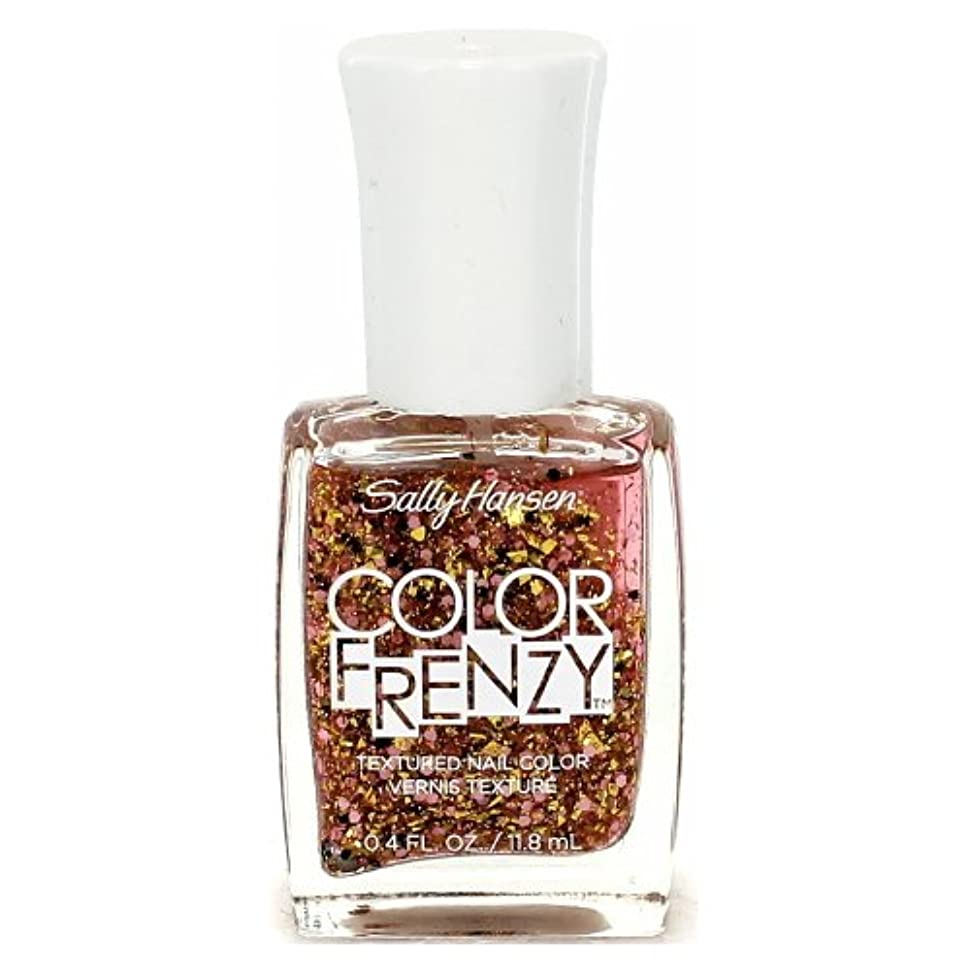 見ましたベックスフェデレーション(3 Pack) SALLY HANSEN Color Frenzy Textured Nail Color - Splattered (並行輸入品)