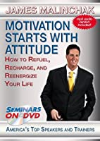 Motivation Starts With Attitude - How to Refuel Recharge and Reenergize Your Life - Seminars On Demand Personal Development Training Video - Speaker James Malinchak - Includes Streaming Video + DVD + Streaming Audio + MP3 Audio - Works with All Devices [並行輸入品]