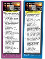 eThought Bible Verse Cards by - The Steps to Salvation - Pack of 25 Bookmark Size Cards (2.75 x 8.25) (BB-A010-25-2.75x8.25) [並行輸入品]