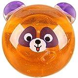 baomabao粘Kid Toys Clay Slime DIYクリスタル泥再生透明 オレンジ Baomabao