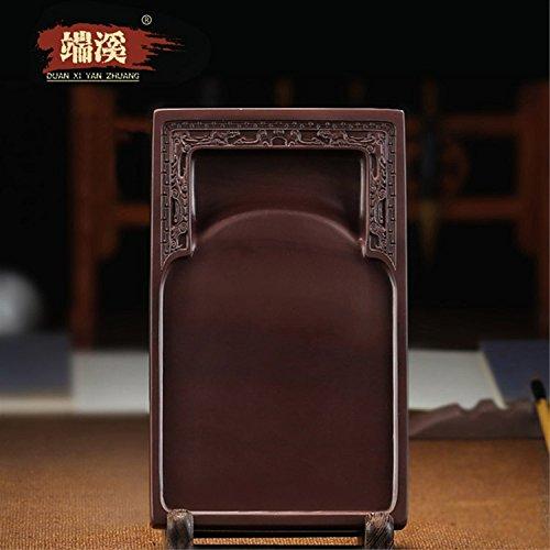 [해외]벼루 端? 8 ? 실용 벼루 나무 상자 硯石 端? 벼루 서예 용품/Bamboo Ridge 8 inch Practical Kiln Box Koseki Endmusi Calligraphy Supplies