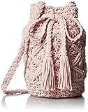 [コントロールフリーク] カラーマクラメ巾着  165-120518 PINK ピンク