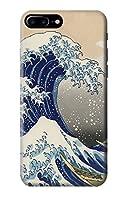 JP2389 葛飾北斎 神奈川沖浪裏 Katsushika Hokusai The Great Wave off Kanagawa IPHONE 7 PLUS ケース