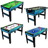 ミニプールテーブル マルチゲームセット 10イン1 マルチボードゲーム フーズボール テーブルテニス シャッフルボード チェス チェッカー バックギャモン プッシュホッケー 子供向けゲームテーブル 電子書籍付き
