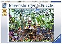 Ravensburger グリーンハウス モーニング 14832 500ピースパズル 大人用 すべてのピースはユニークで、ソフトクリック技術でピースがぴったりとフィット