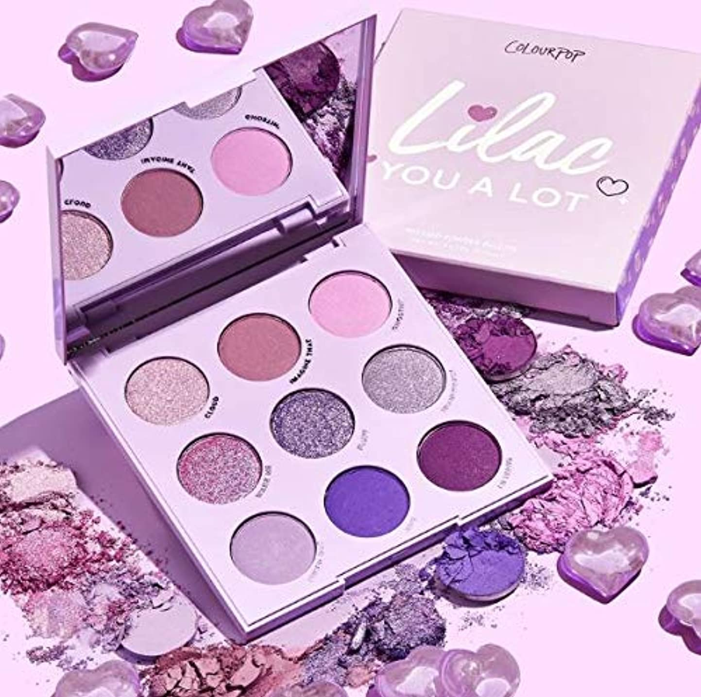 蜂石化する方程式カラーポップ (ColourPop)lilac you a lot