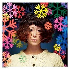木村カエラ「A winter fairy is melting a snowman」のCDジャケット