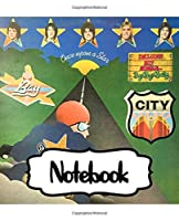 Notebook: Inspirational Quote, Soft Glossy with Ruled lined Paper for Taking Notes, The Bay City Rollers Scottish Pop Rock Music Band Worldwide Teen Idol Popularity In The 1970s, 110 Pages 7.5 x 9.25 Inches, Supplies Student Teacher Daily Creative Writing