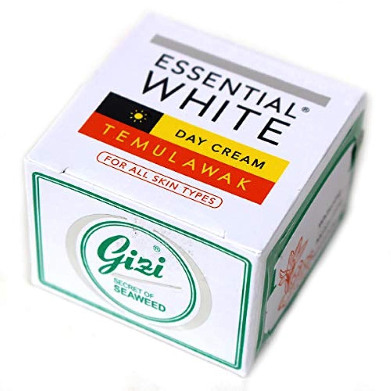 チップジョージスティーブンソン花瓶ギジ gizi Essential White 日中用スキンケアクリーム ボトルタイプ 9g テムラワク ウコン など天然成分配合 [海外直送品]