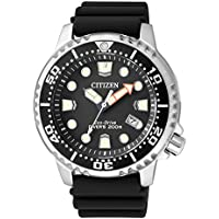 Citizen Eco-Drive Promaster Steel/Rubber Divers Mens Watch BN0150-10E