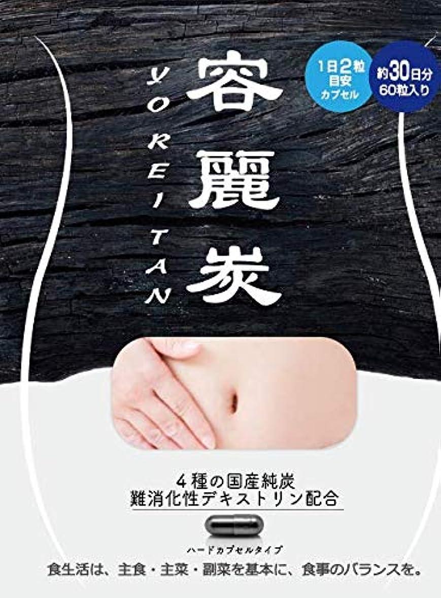 アーティファクトぼろスリッパ容麗炭 60粒入り(30日分) チャコール ダイエット サプリ