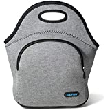 Cosfash Neoprene Lunch Tote Insulated Reusable Picnic Lunch Bags Boxes for Men Women Adults Nurses (01-Lunch Bag)