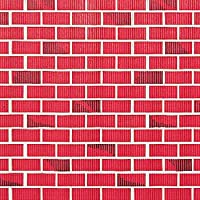 TwoTone Brick Patterned Corrugated Paper