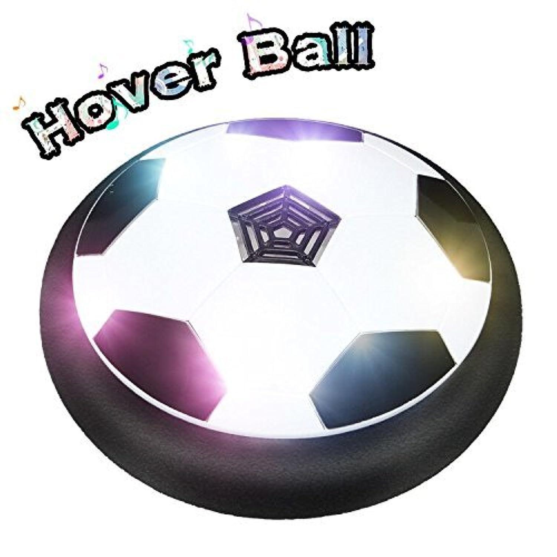 空気力学的フットボール、子供のおもちゃFloatボールFoamバンパーLEDライトスポーツ?トレーニング用、インドア&アウトドアトレイHockey Game