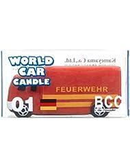 カメヤマキャンドル( kameyama candle ) ワールドカーキャンドル消防車(ドイツ)