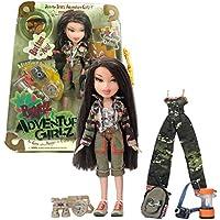 MGA EntertainmentブラッツAdventure Girlzシリーズ10インチ人形 – Jade with 2セットの服装、カメラ、水Canteen、双眼鏡、walkie-talkie、ランタン、バックパックand Adventure Girlzボタン