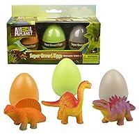 Animal Planet Grow Eggs- Dinosaur- Hatch and Grow Three Different Super-Sized Animals (Series 2) [並行輸入品]