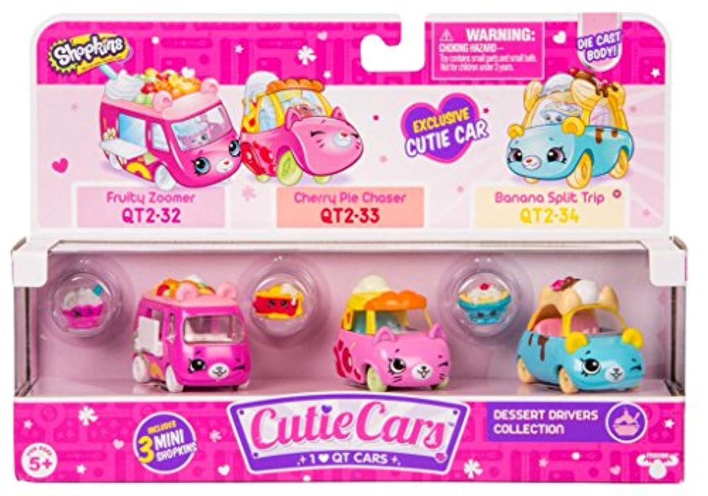 [ショップキンズ]Shopkins 3-Pack Series 2 Cutie Cars Dessert Drivers Collection Set デザートドライバーズ 56740 [並行輸入品]
