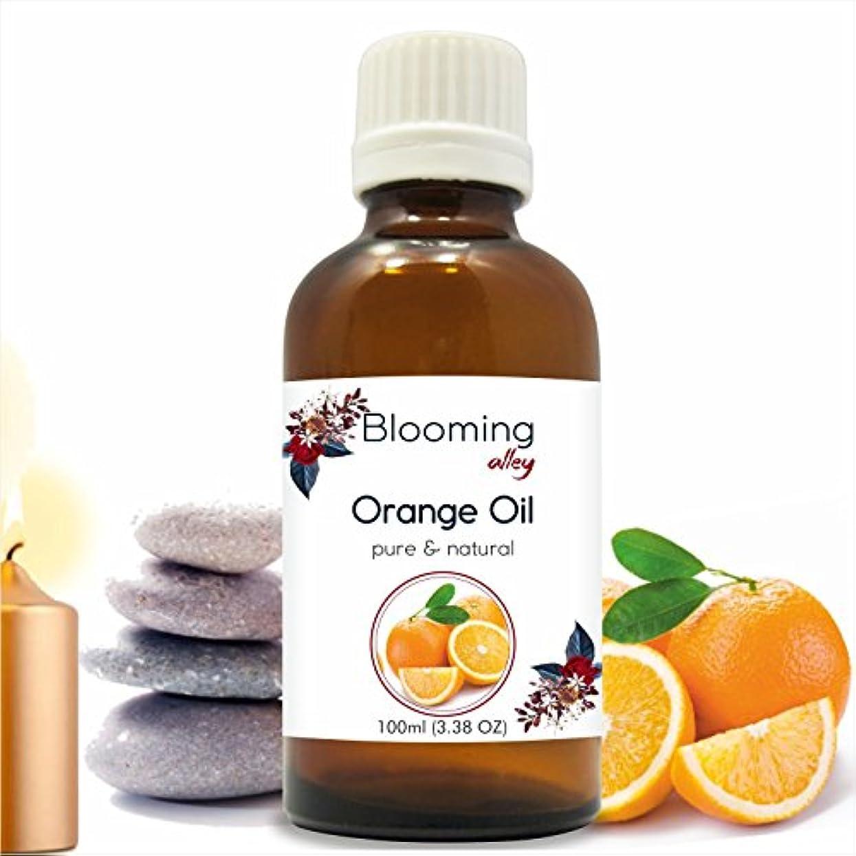 ペア抹消チャペルOrange Oil (Citrus Aurantium) Essential Oil 100 ml or 3.38 Fl Oz by Blooming Alley
