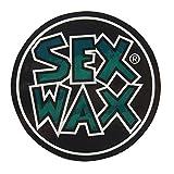 レイバンサングラス セックスワックス ( SEX WAX ) SEX WAX NEW サークル ステッカー 9cm ( メタリックグリーン ) デカール シール ステッカー