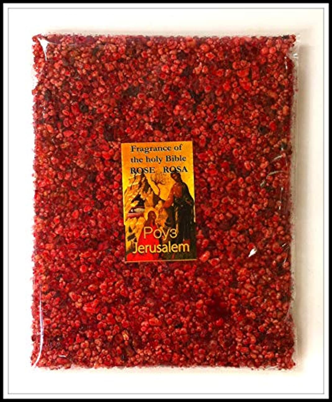 打たれたトラック滑り台ダイバーRose of Sharon Frankincense樹脂Aromatic IncenseからエルサレムHoly Land 3.5 Oz / 100 g
