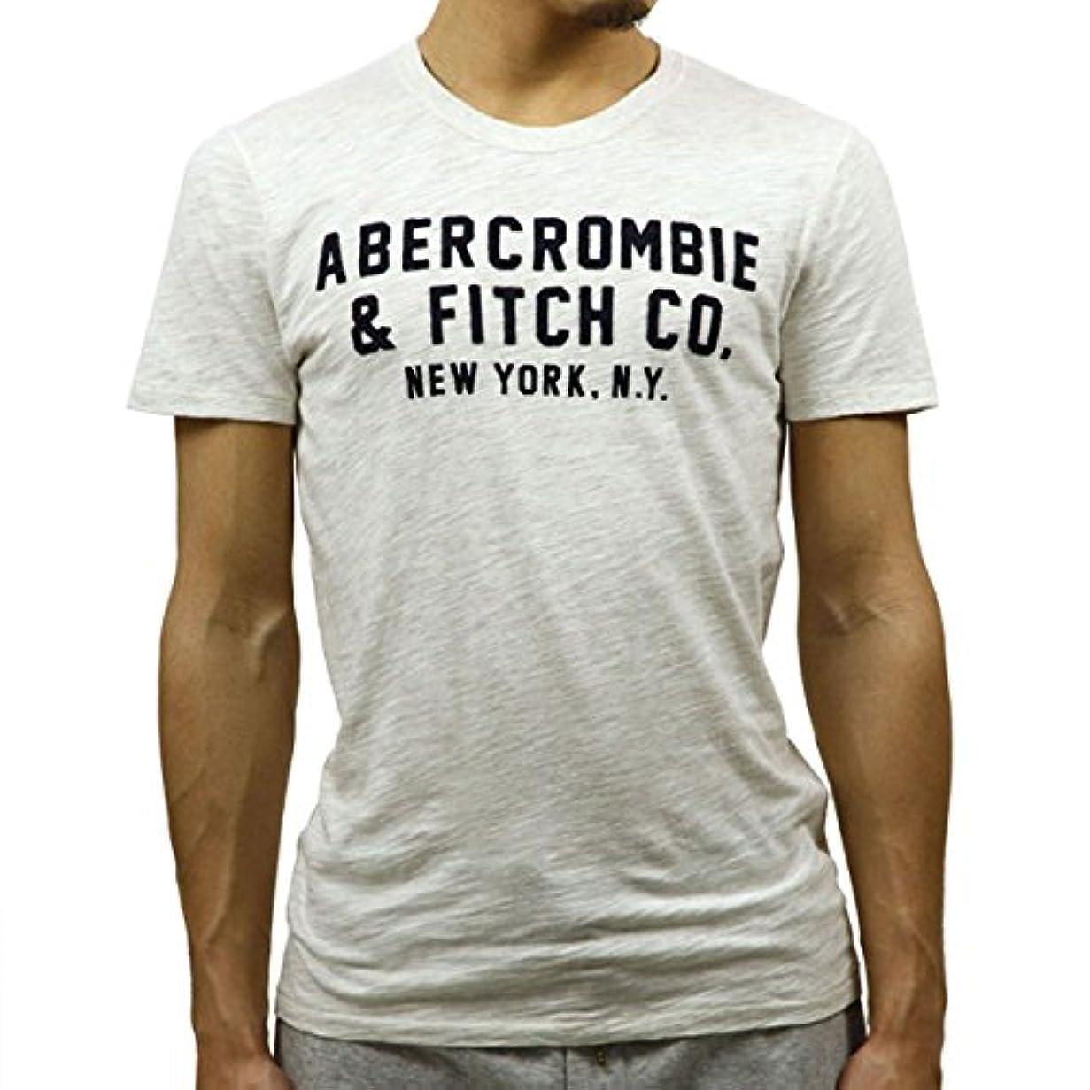 連合ひねくれた急速な[アバクロ] Abercrombie&Fitch 正規品 メンズ 半袖Tシャツ APPLIQUE GRAPHIC TEE 123-238-2178 並行輸入品