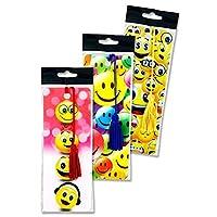 プレミアステーショナリーW2119516 3D Emotionery Emoji Bookmarks(12個入り)