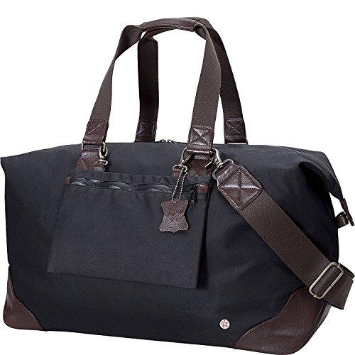 トーケン バッグ スーツケース Lafayette Waxed Duffel Bag Black [並行輸入品]