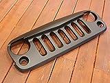MARVIN (マーヴィン) アングリーグリル Aタイプ ブラック ABS製 2007y- JEEP JKラングラー