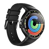 Ticwatch S スマートウォッチ 最快適 Smartwatch-Knight 1.4インチOLEDスクリーン Android Wear 2.0 iOSとAndroid対応 Googleアシスタント搭? S Knight ブラック