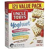 UNCLE TOBYS Muesli Bars Yoghurt Variety, 12 Bars Value Pack, Variety Pack, 375g