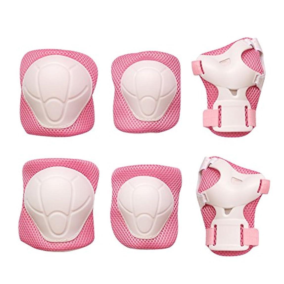 取り戻すスクリューまたねmaxzola Kids Protective Pads膝パッド肘パッド手首ガード3 in 1保護ギアセット