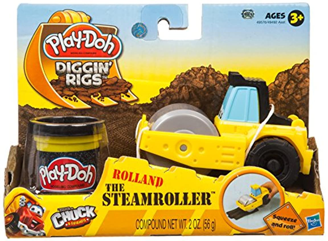 セグメントオーストラリア協同Play-Doh Tool Crew Rolland The Steam Roller