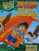 Go Diego Go 96 Page Coloring and Activity Book (Extreme Animals) by Bendon Publishing [並行輸入品]