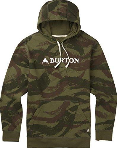 Burton(バートン) フーディー メンズ パーカー フリース MOUNTAIN HORIZONTAL PULLOVER Sサイズ Brush Camo 147741