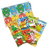 【クリスマスお菓子】明治 ツリーにかざろう!オーナメントアソート・8袋入り(1パック)  / お楽しみグッズ(紙風船)付きセット