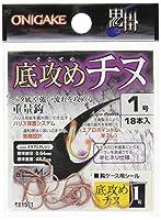 ハヤブサ(Hayabusa) 鬼掛 底攻めチヌ オキアミオレンジ 3号 B815E1-3