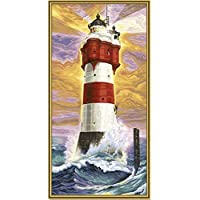 LIGHTHOUSE PAINT BY NUMBER KIT by Schipper [並行輸入品]