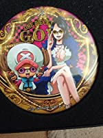 ONE PIECE FILM GOLD 輩缶バッジ セブン ロビン チョッパー