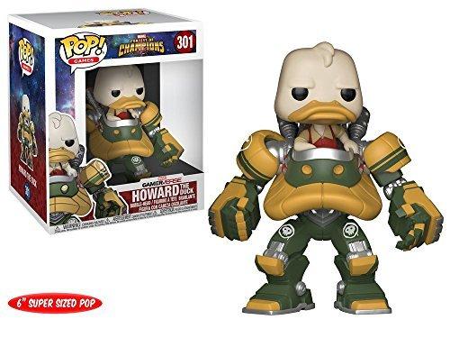 Marvel Contest of Champions(MARVEL オールスターバトル) Howard the Duck(ハワード・ザ・ダック) FUNKO/ファンコ POP MARVEL VINYL ボブルヘッド [並行輸入品]