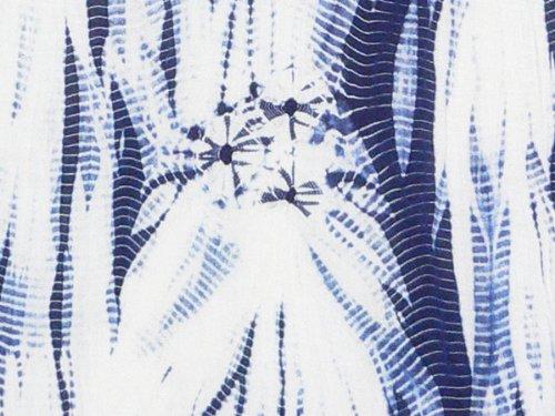 【堀井】 伝統的工芸品 有松鳴海絞り 絞り染め手ぬぐい 「 たつ巻き絞り 」