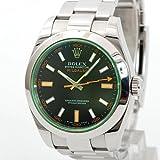 [ロレックス] ROLEX ミルガウス ウォッチ 腕時計 ブルー ステンレススチール(SS) 116400GV [中古]