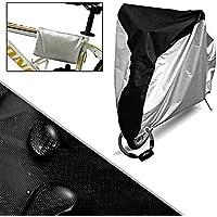 自転車カバー 防水 撥水加工UVカット 風飛び防止 破れにくい190T 収納袋付き26インチまで対応  Kungix