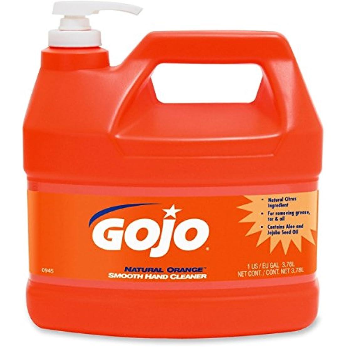 ずんぐりしたドメイン筋肉のgoj094504 – GOJOナチュラルオレンジSmooth heavy-duty Hand Cleaner